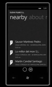 Search on Windows Phone 7 Series
