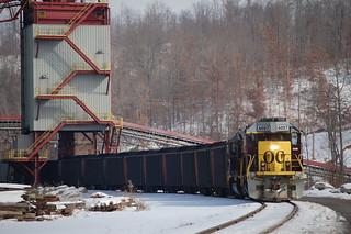 Making a coal train
