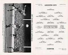 Leicester City v Everton 66-67 (bullfield) Tags: nottinghamforest everton doog leicestercity footballprogramme derekdougan