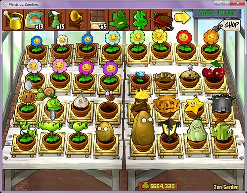 plants vs zombies plants. Plants Vs Zombies 1