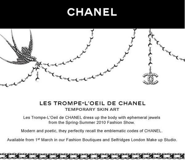 Chanel - Les Trompe-L'Oeil de Chanel