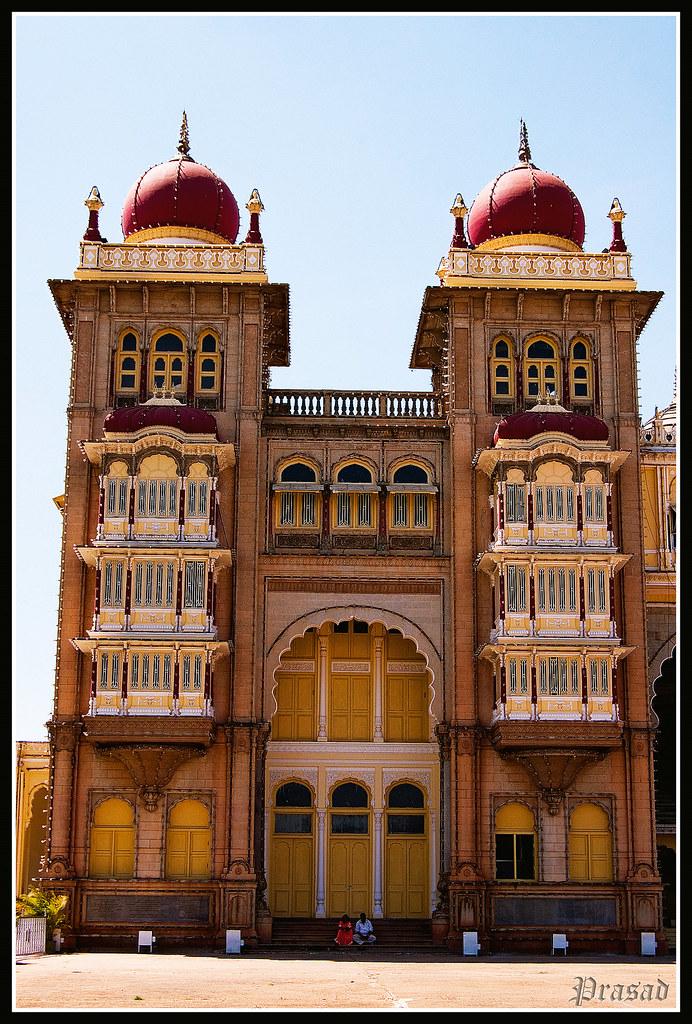 Windows Set in Mysore Palace