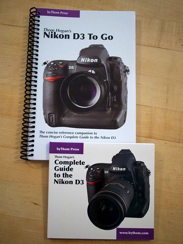 Thom Hogan's Complete Guide to the Nikon D3