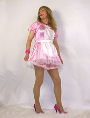 goldilocks 3 (gillian .) Tags: pink tv dress feminine cd bib apron transgender mature sissy transvestite satin crossdresser ts maids pinafore tg pinny adamandeve frilly tablier domesticated frills trannie kittel mucama schort malemaid meninaprons schortje bibbedapron sissymaidsapron