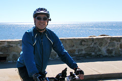 Biking by the Shoreline in Stratford (3/6/2010) - 06