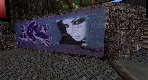 graffitti at shadow realm club