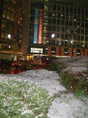 snow in Shinjyuku WEST