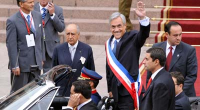CHILE-POLITICS-PIÑERA-INAUGURATION