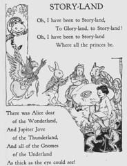 Storyland 1 illustrated by Helene Nyce (katinthecupboard) Tags: poem vintagechildrensbooks vintagechildrensillustrations vintagechildrensstories helenenyce nycehelene