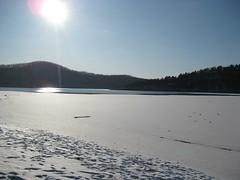 Frozen Lake (siren7) Tags: frozenlake tablerocklake missouriozarks galenamo