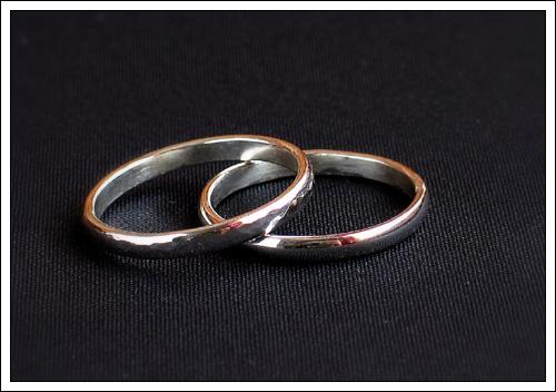 Basic silver rings