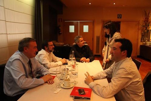 Con Pablo Villoc