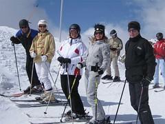 Skifreunde am Hintertuxer Gletscher (hotelvierjahreszeiten) Tags: austria tirol hintertux