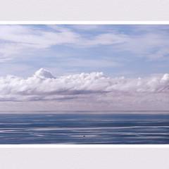 Little boat, big sea (shastadaisy~) Tags: clouds littleboat bigsea dragondaggerphoto yourwonderland magicunicornverybest magicunic