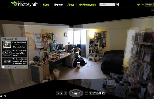 Photosynth: Kevin's Buffalo Bedroom