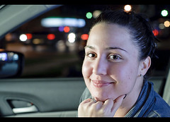 Day 91: The wifey (.John Caetano.) Tags: portrait night nikon bokeh day91 d90 project365 strobist johncaetano