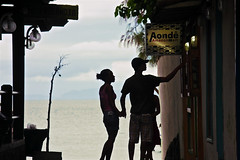 Aond Amazon Art (mEGaPHiLL) Tags: brazil art love silhouette amazon couple lone solitary barren bzios easter2010 aond