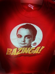 BAZINGA! Big Bang Theory merch!
