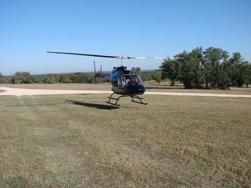 V-Bharre Ranch Helicopter