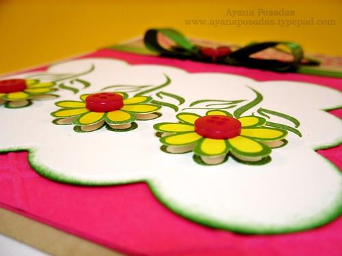 Flower Button Card (2)