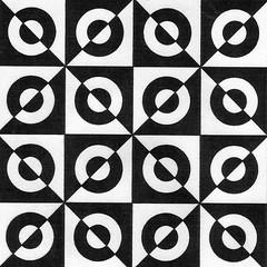 PaperReEnforcers (Marguerite1997) Tags: blackandwhite geometric grid circles autocad zentangles zentanglepattern zentangleinspiredart zentanglegreetingcards