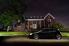 Weird NJ - Skillman Village (Ronaldo.S) Tags: light green abandoned beauty vw weird scary nikon paint village dish nj creepy tokina bags gti rs bbs f28 skillman alienbees d90 b800 1116mm