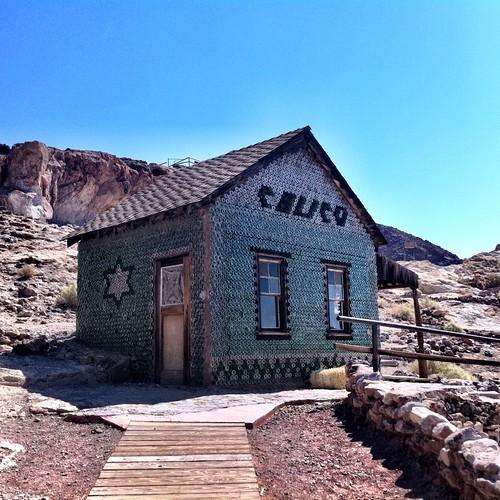 Calico Bottle House