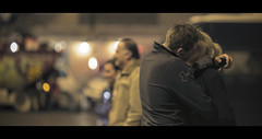 """12/52  Project 2014 """" Lovers """" (Orione59) Tags: street people canon photography bokeh candid streetphotography tuscany cinematic ef135mmf20 5dmk3 orione1959 orionephotographer project2014lovers"""