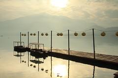 日月潭 - Sun Moon Lake (Lavender0302) Tags: 晨曦 蔣介石碼頭 涵碧步道 涵碧樓 日月潭 魚池 南投 台灣 taiwan sunrise sunmoonlake