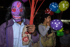 Dhaka | 2017 (Sohail Bin Mohammad) Tags: street streetphotography hardcorestreetphotography unposed color colorful flash explore explorer candid outdoor balloons people dhaka bangladesh sohailbinmohammad