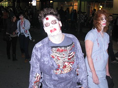 Silver Spring Zombie Walk  produced and organized by the Silver Spring community (Downtown Silver Spring) Tags: by silver spring community zombie walk produced organized