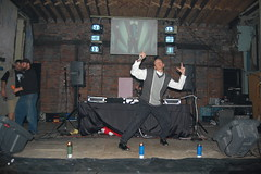 3rd Annual Devil's Night Party (technochick) Tags: party music costume dj detroit techno rave militia dtm detroittechnomilitia devilsnight bangtech12 devilsnightpartybangtech12detroittechnomilitiarave