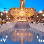 Porto: Câmara Municipal de noite