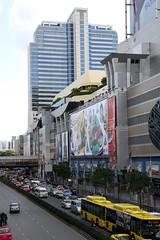 Bangkok Billboards (Photo505 - Online Photo Effects) Tags: street city advertising poster thailand big bangkok billboard thai advert sity advertise bigboard
