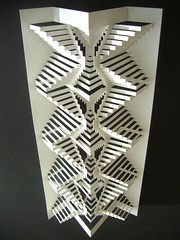 3 spine concertina fold