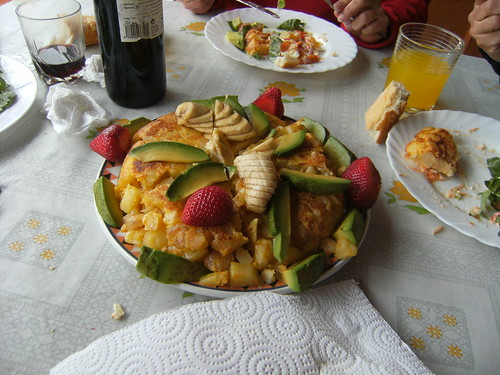 Una gran comida