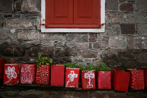 lesvos red planters