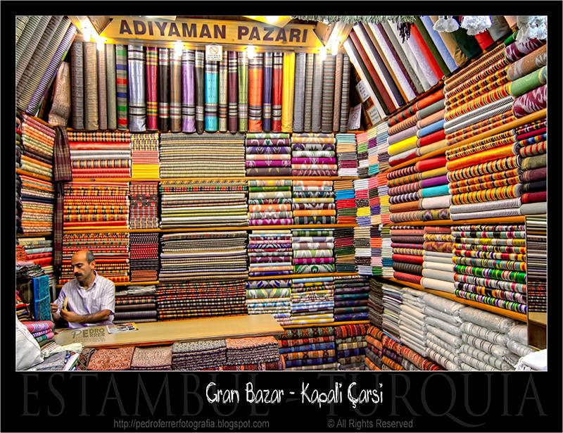 Gran Bazar - Grand Bazaar - Kapalıçarşı