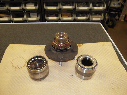 Wheel Bearings and Hub