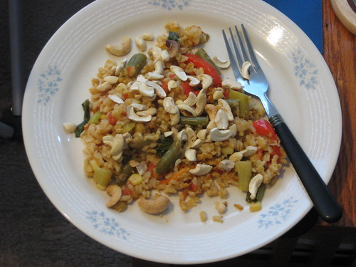 Asian Chickpea Scramble