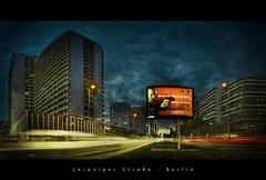Leipziger Strae, Berlin (d.r.i.p.) Tags: longexposure light panorama berlin architecture night germany deutschland lights nikon nightimages nacht widescreen drip architektur bluehour mitte 180 hdr hdri nachtaufnahme 14mm photomatix d80 hdrpanorama berlinhdr vertorama 1424mm leipzigerstrase 1424mm28 reflectyourworld