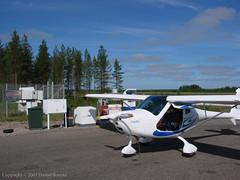 DB_20070705_2393 (ilg-ul) Tags: finland airplane aircraft transportation pudasjärvi airtransportation remos pohjoispohjanmaa efpuairfield yr6161