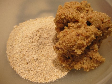 Oat Flour and Wet Ball