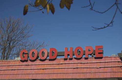 GOOD HOPE (good hope rd se dc)