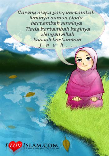 wallpaper muslimah kartun. Kartun
