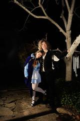 Sunshine and Waldemar (naturalturn) Tags: california party portrait usa love halloween sunshine night costume longhair paloalto renaissance doublet waldemar sunshinelove image:rating=4 image:id=084275