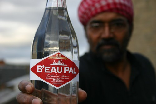 B'eau Pal from the Yes Men