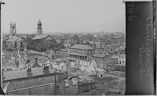 View of Charleston South Carolina by The US National Archives
