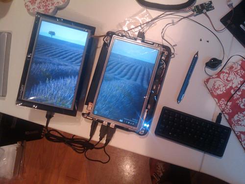 Dell Inspiron Mini 9 Dual Screen Tablet Mod