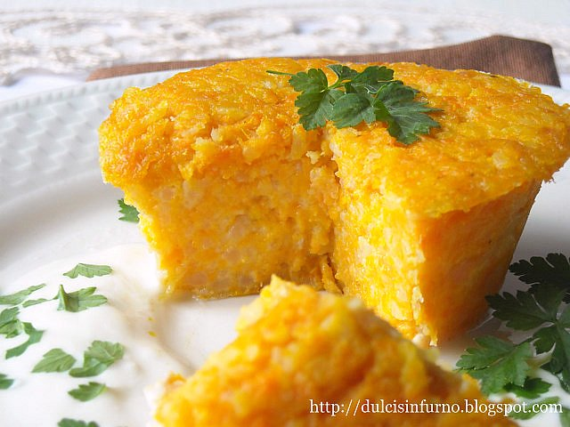 Sformato di Patate e Carote-Carrot and Potato Flan